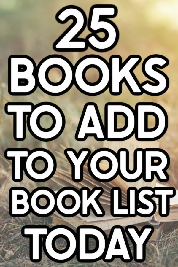 Books to add to your book list text