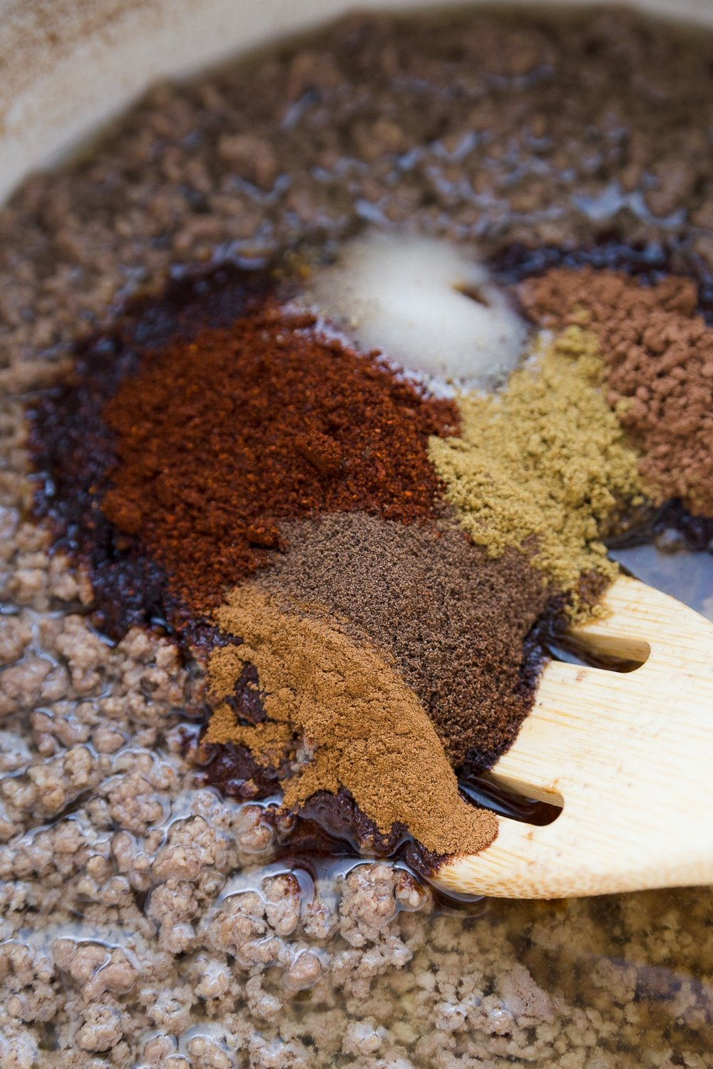 Spices for homemade Cincinnati chili recipe