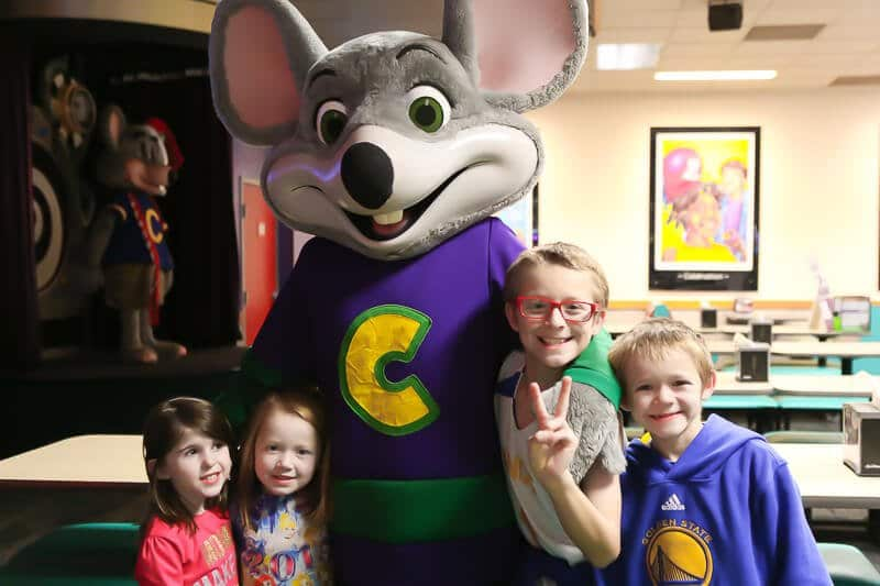 The Ultimate Guide To A Chuck E Cheese Birthday Party