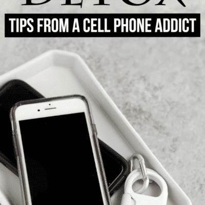 How to Disconnect and do a Digital Detox from The Girl With a Cell Phone Addiction