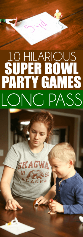Easy Super Bowl Party Games: Linemen