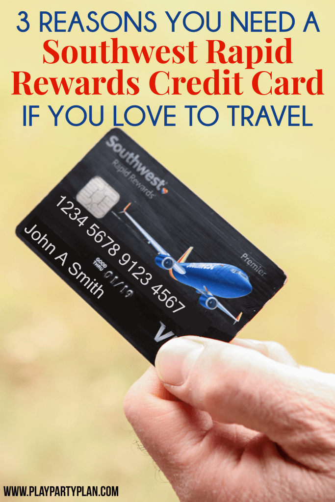 Getting a Southwest rapid Rewards credit card might be one of the smartest decisions you'll make this year for travel! Find out how you can get a Southwest companion pass, free flights, and more with the credit card.