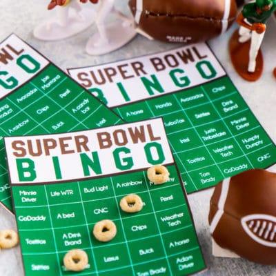 Fun Super Bowl Games: Super Bowl Commercial Bingo