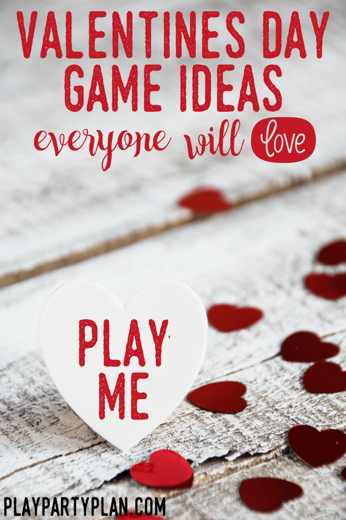 These chick flick inspired Valentine's Day party games for adults aren't just for adults. The games are great for teens, for kids, for fun in the classroom, or even for an anti Valentines Day party! They're minute to win it inspired and only require simple things like notebooks and ping pong balls! I love these party ideas!