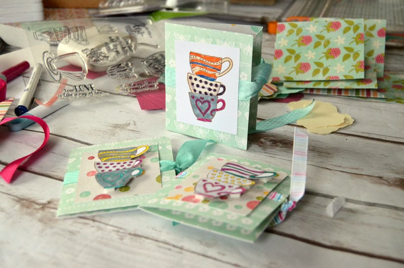 Greeting cards made with the Cricut Explore Air