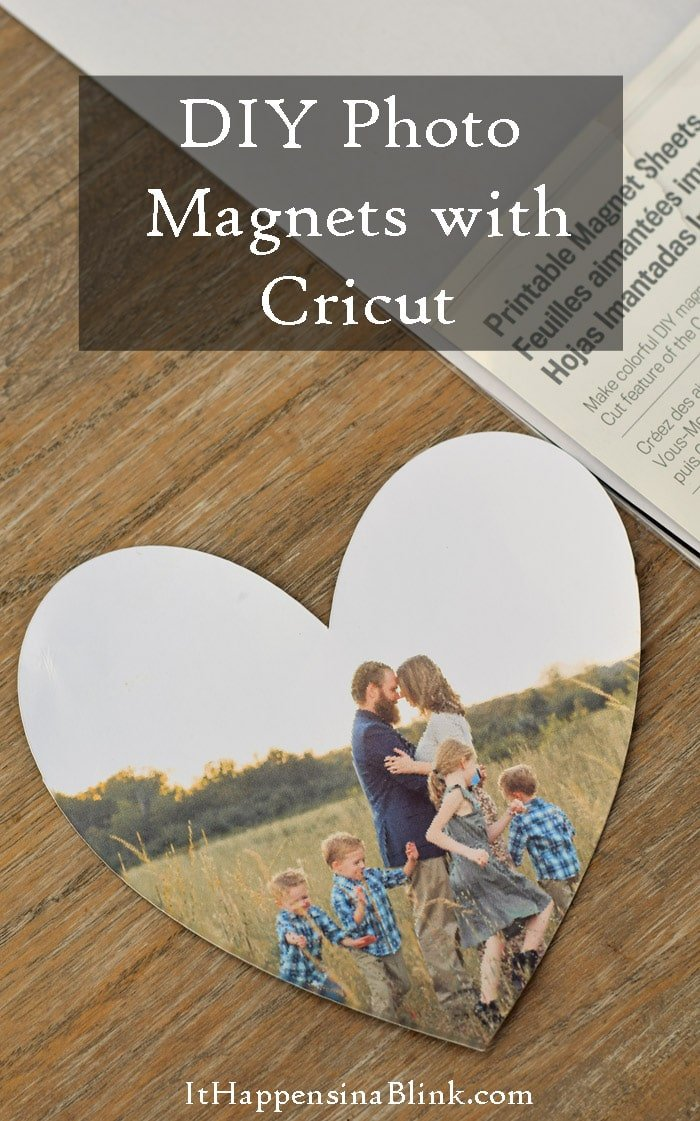 Magnets made with the Cricut Explore Air