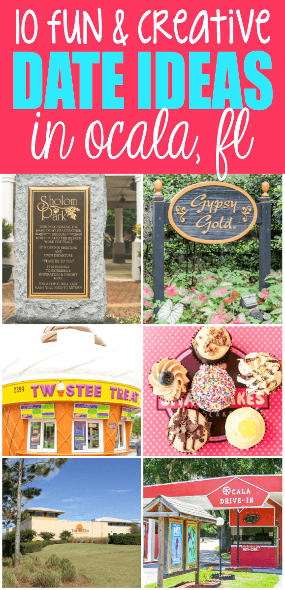 The best date night ideas and activities in Ocala, Florida! Perfect for  celebrating Valentine's
