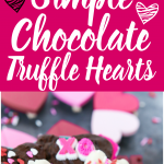 These easy chocolate truffles are homemade, healthy, and the perfect gourmet Valentine's Day gift. Make the recipe with dark, white, or milk chocolate - it doesn't matter, it's still delicious. These look so good!