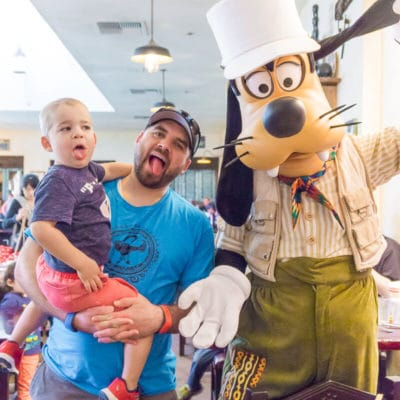 Tips for Disney World Character Dining with Young Kids