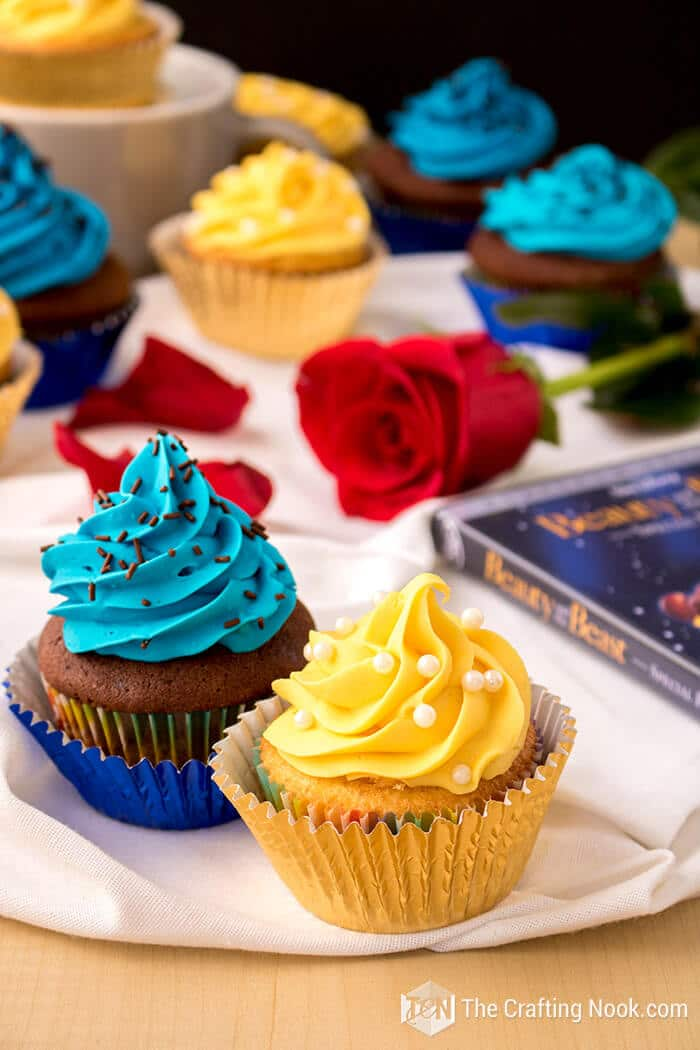 The-Beauty-and-the-Beast-Cupcakes-fun