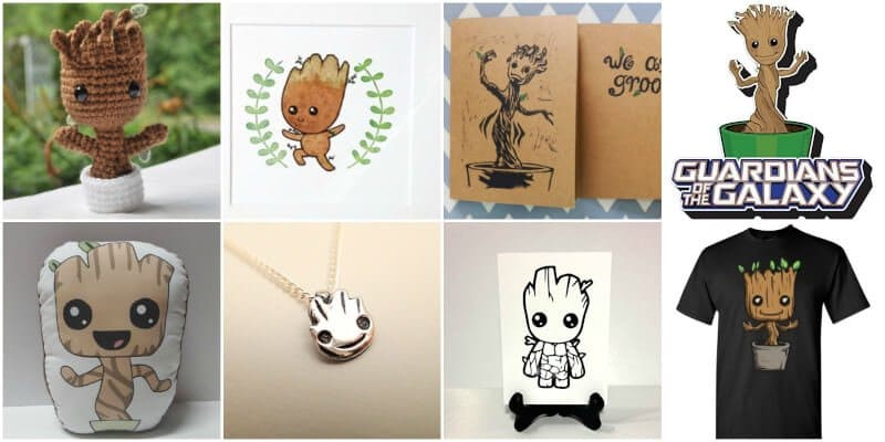 10 awesome gift ideas for anyone who loves Baby Groot or Guardians of the Galaxy!