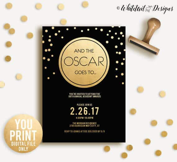 Old Hollywood Decor in addition Bradley Cooper The Oscars furthermore Oscar Party Ideas Oscar Night Bingo Cards besides Jewels Fab Finds Must Have Oscar Party Invite besides Movie Review Hidden Figures 2016 2. on oscar award invites