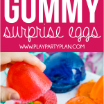 These gummy surprise eggs are one of the most fun edible Easter egg ideas ever! They're simple to make and hide a fun little surprise inside for the kids! They're the perfect Easter dessert that everyone will love.