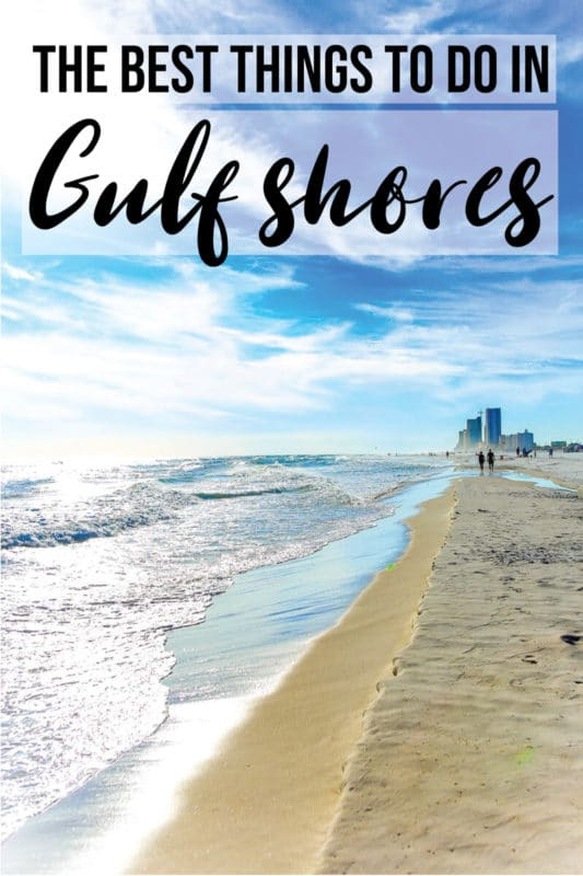The best things to do in Gulf Shores Alabama not just the beach! Tons of great ideas for kids, tips for where to stay in the area, great rentals, best restaurants, top attractions, and more!