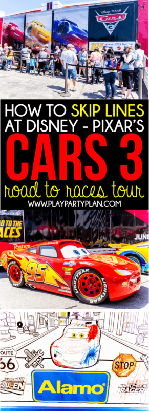 Skip lines at the Cars 3 Road to the Races tour with these awesome tips! Everything from what to bring to what the event actually includes!