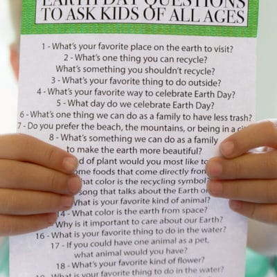 Free Printable Earth Day Quiz for Kids