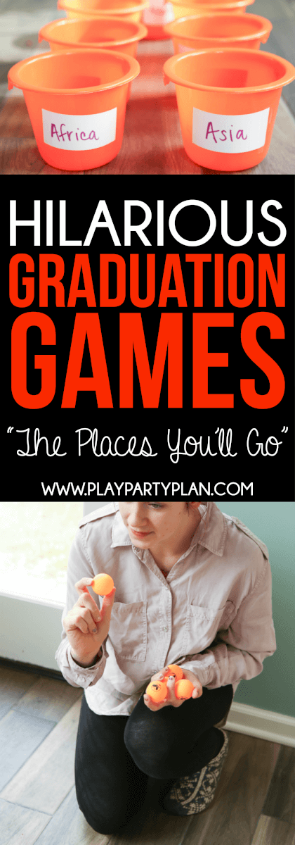 Oh the places you'll go graduation party games and more