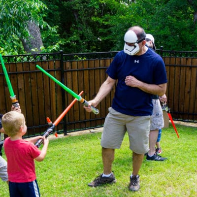 Jedi Training Academy Star Wars Party Ideas