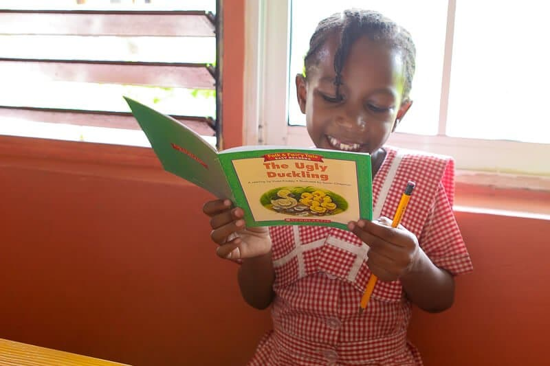 Details about how to do a reading road trip through the Sandals Foundation