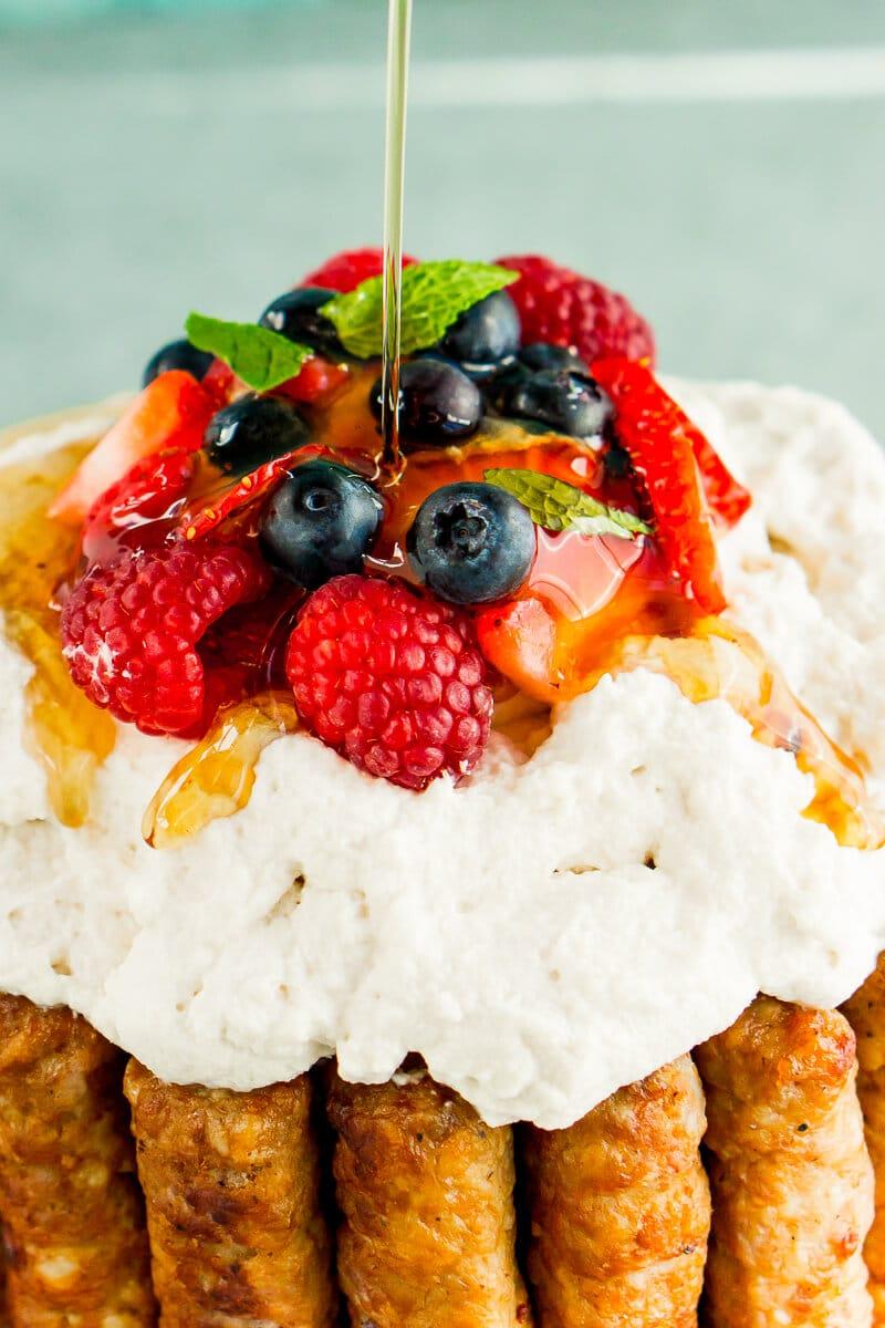 Watch Cranberry-Orange Pancakes video