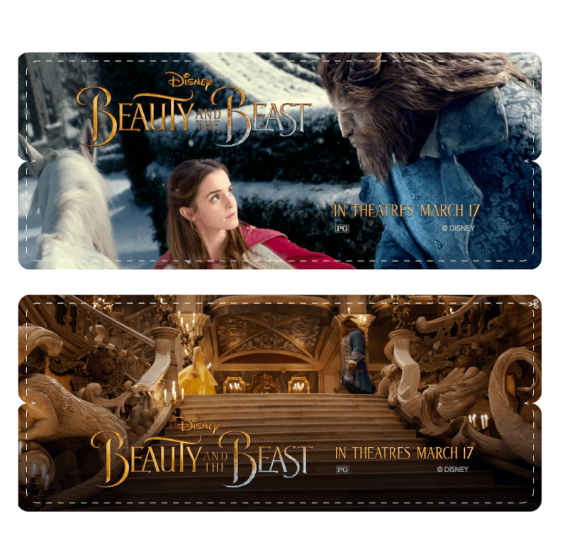 Free printable Beauty and the Beast games, activities, coloring pages, and more!