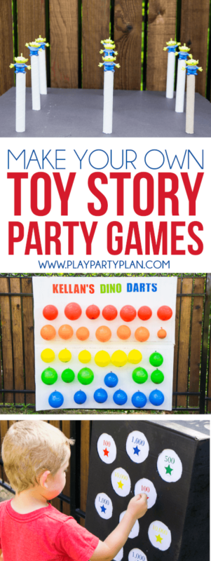 Make your own Toy Story Midway Mania games at home with this fun outdoor games tutorial! With everything from a homemade balloon darts to a punch box, so many fun ideas!