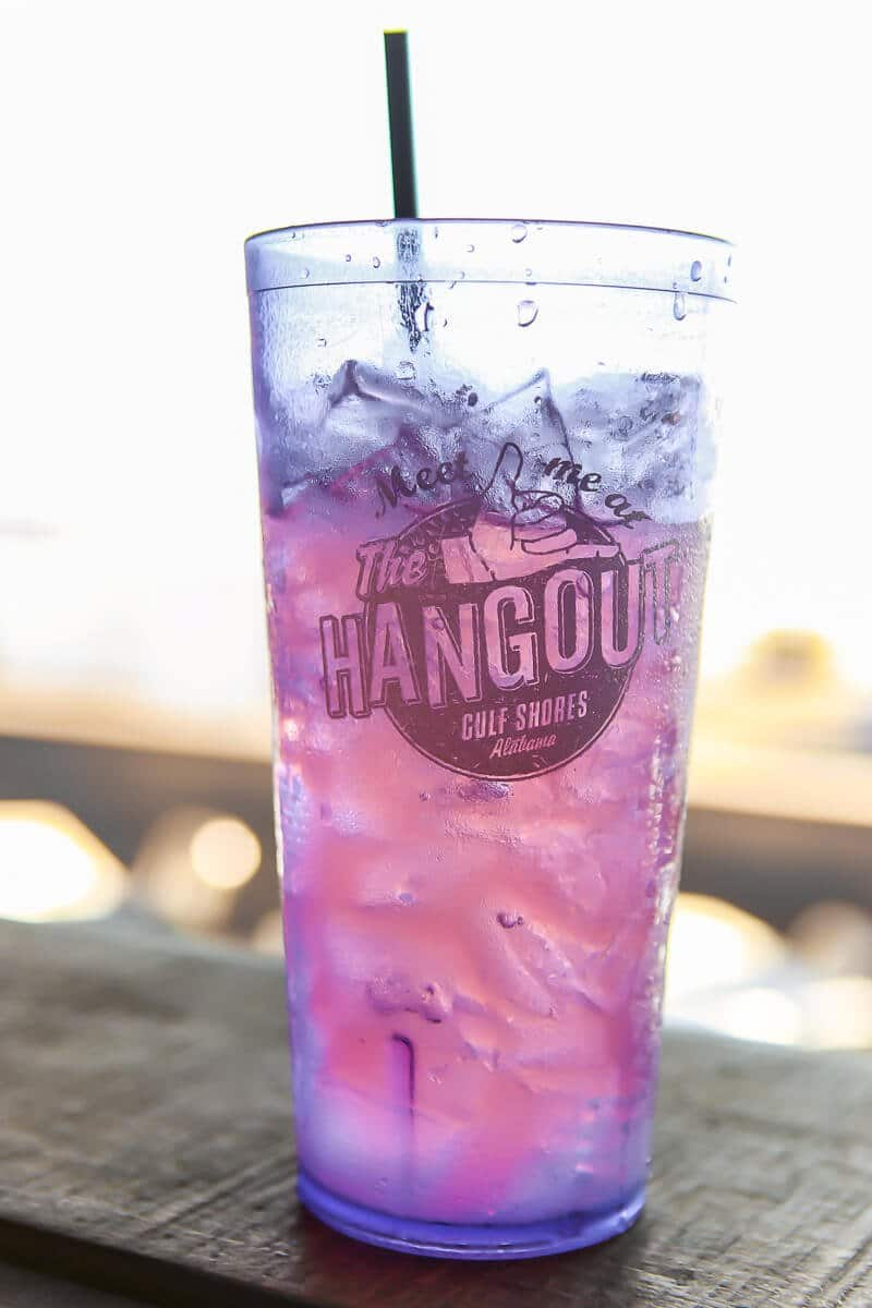 The Hangout Gulf Shores is one of the most fun Gulf Shores restaurants with its foam parties and great menu!