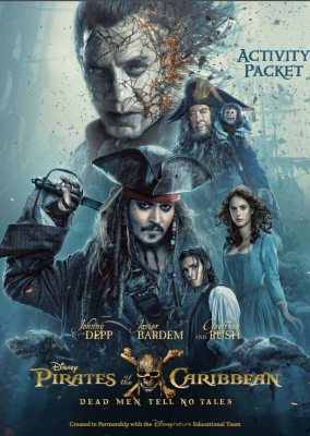 Pirates of the Caribbean Games and Activity Sheets
