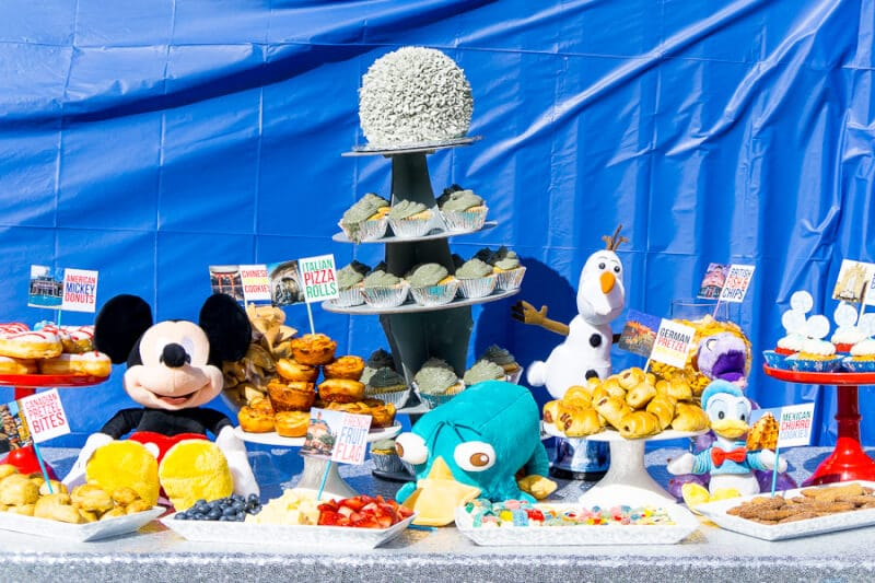 This Awesome Disney Party Has Tons Of Great Ideas Inspired By World Attractions And Even