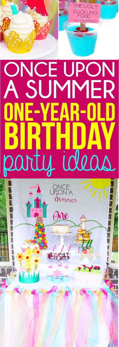 These Once Upon A Summer First Birthday Ideas Are Perfect For One Year