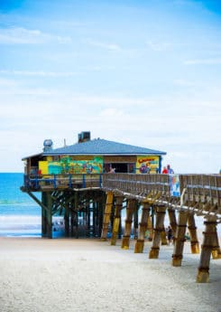 Crabby Joe's is not only one of the best Daytona Beach restaurants but also has a great view!