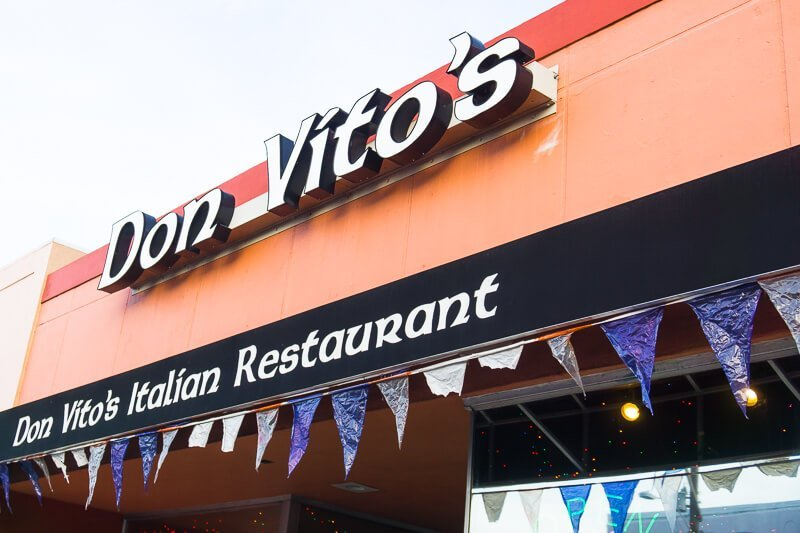 Some of the best food in Daytona Beach is at Don Vito's!