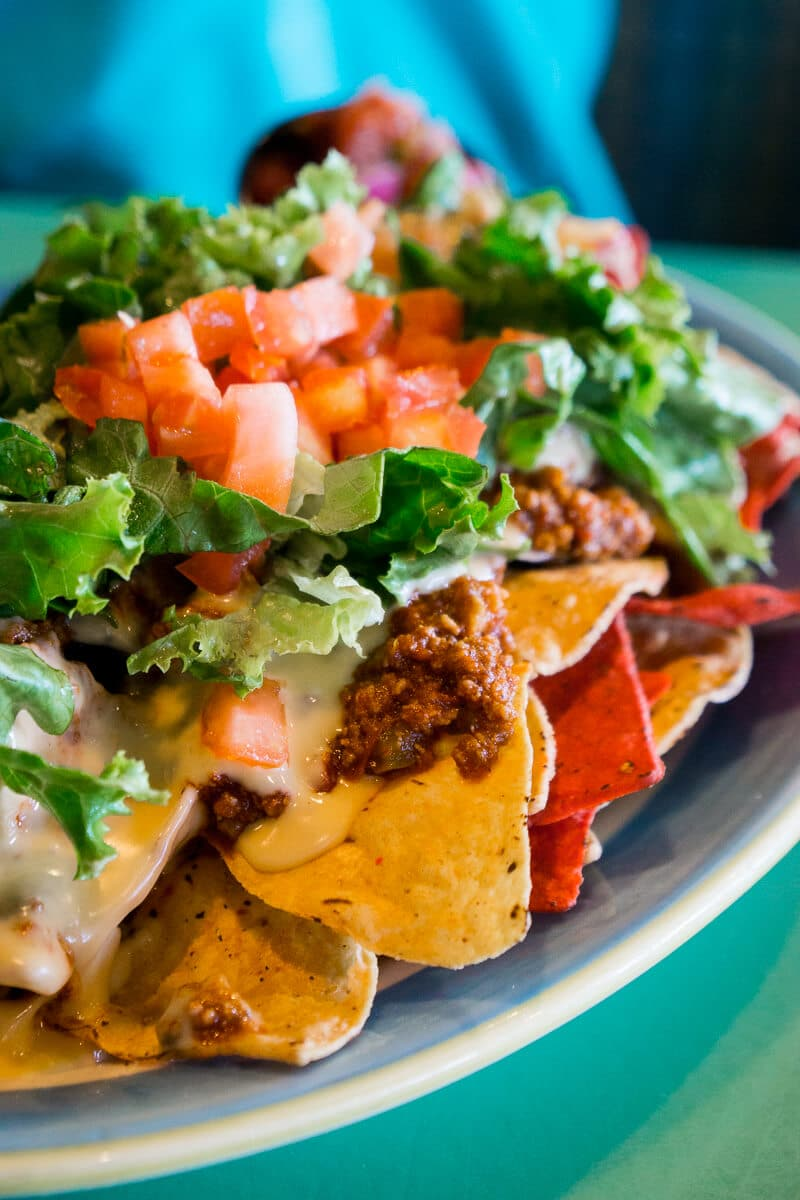 Sloppy joe nachos at Sloppy Joe's is one of the top items on the menu!