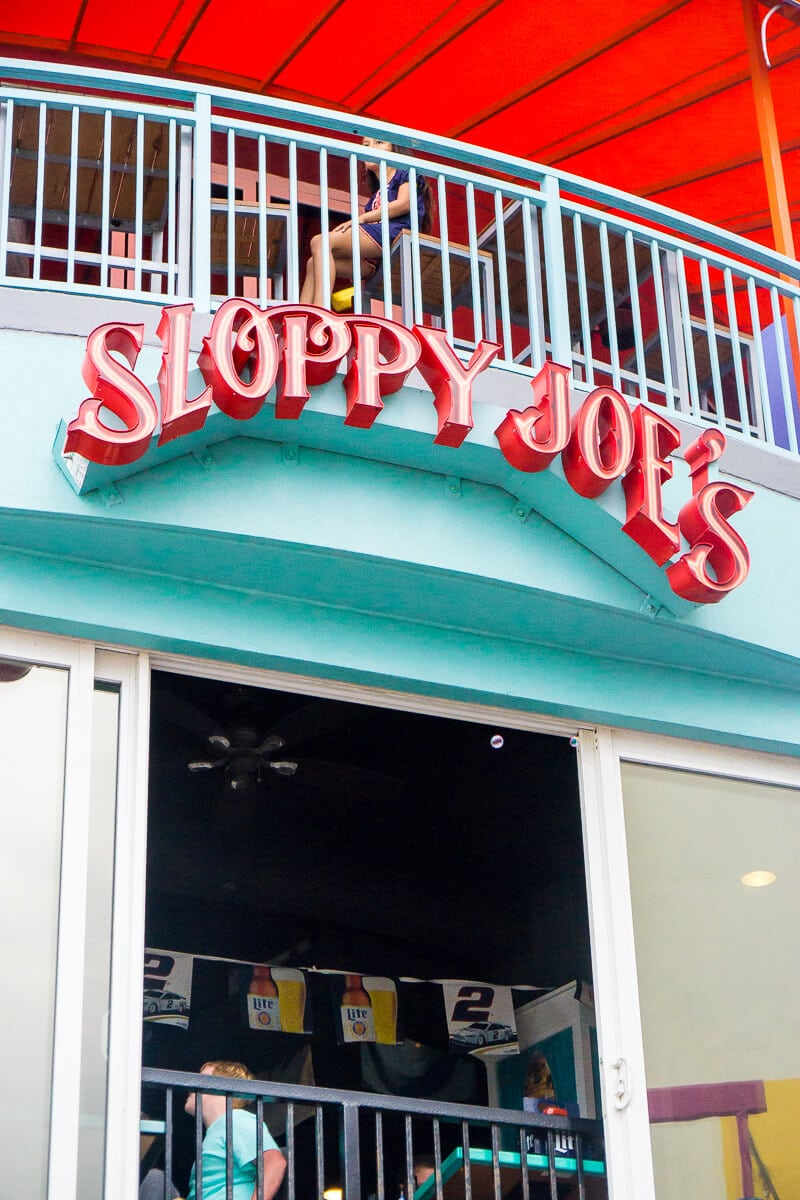 Sloppy Joe's serves great food in Daytona Beach!