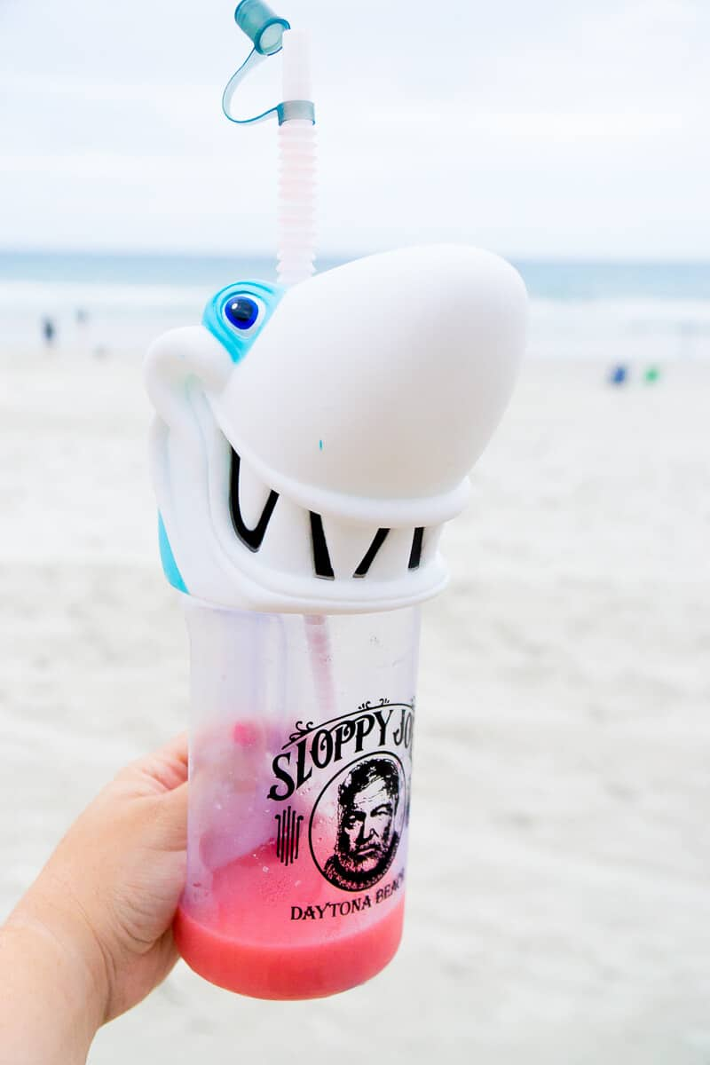 Don't forget a shark cup at Sloppy Joe's!