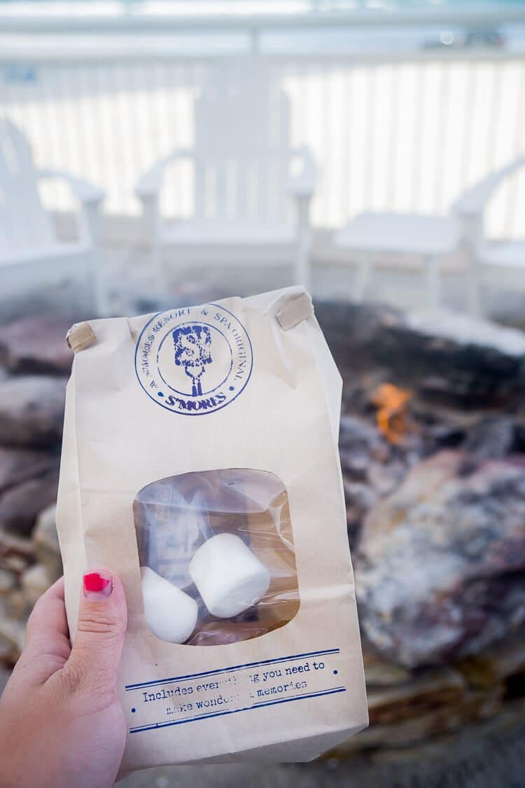 Make S'mores at The Shores Resort & Spa in Daytona