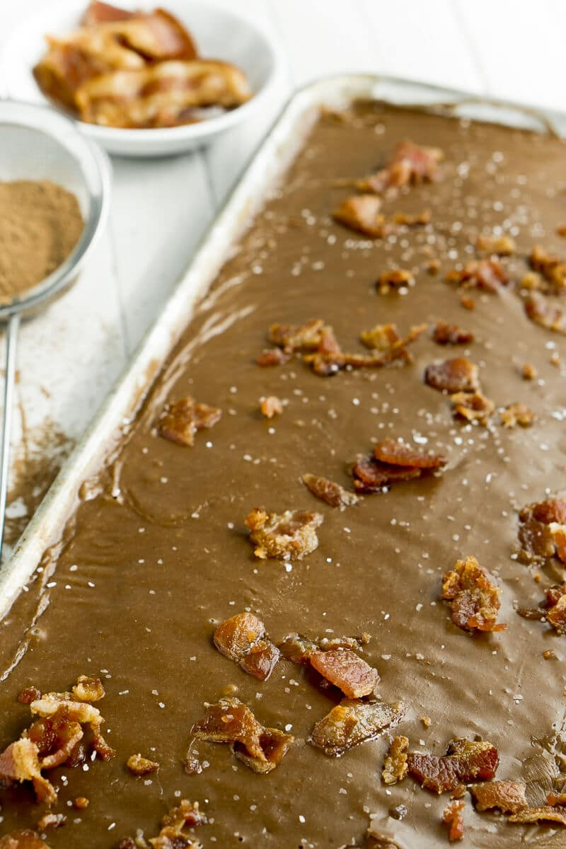 This Texas sheet cake is the perfect sweet and salty dessert