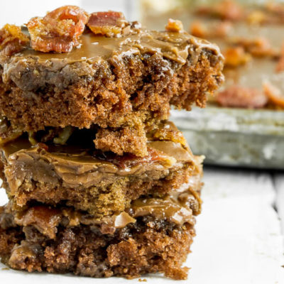 Maple Bacon Texas Sheet Cake Recipe