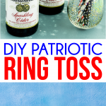 How to make a DIY ring toss game at home