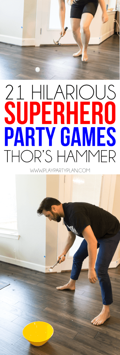 21 Hilarious Superhero Party Games Kids Amp Adults Will Both