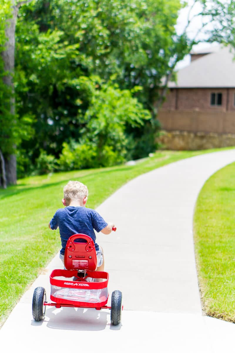 Radio Flyer trikes are the most loved by kids!