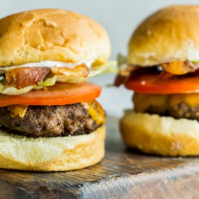 Bacon Ranch Beef Sliders