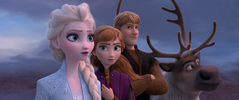 Disney Frozen games and a photo of the Disney characters