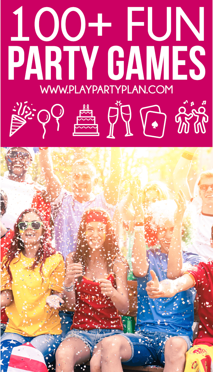 The ultimate collection of fun party games for every occasion!