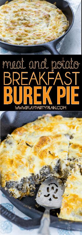 This Bosnian burek recipe is a great breakfast recipe for a crowd!