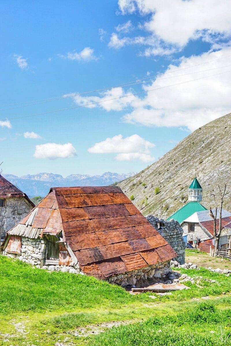 ATV trip in Bosnia to the top of a mountain