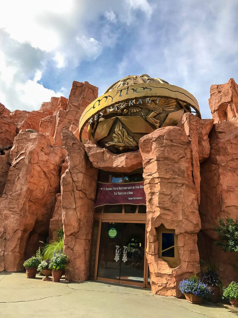 Mythos in Islands of Adventure is the #1 theme park restaurant in the world