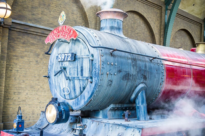 Hogwarts Express at Universal Studios Orlando takes you straight into a Harry Potter movie