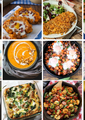 A week's worth of Whole 30 recipes