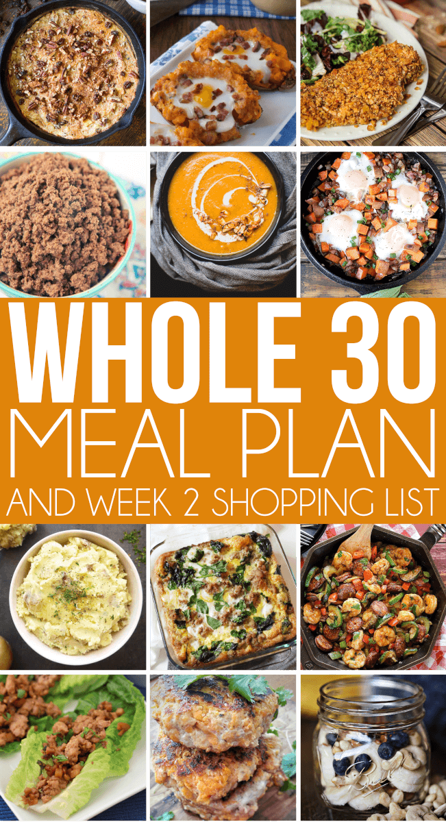 All sorts of delicious Whole 30 recipes for every meal time! Lunches, dinners, breakfasts, and even snack ideas! Everything you need to thrive on the Whole 30 challenge! via @playpartyplan